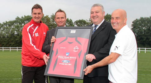 Dealerships support local football club
