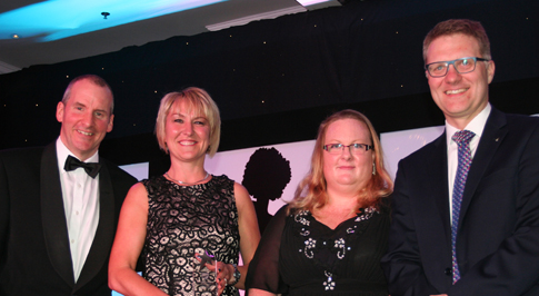 Leicester Citroen colleagues win at national awards