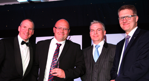 Bristol Street Motors colleagues in Stoke win national award