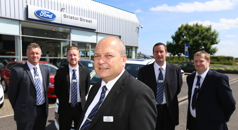 Morpeth Ford dealership celebrates seven years of success