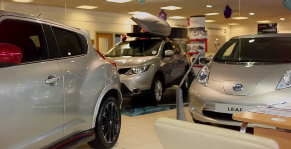 Welcome Video from Nissan Bradford
