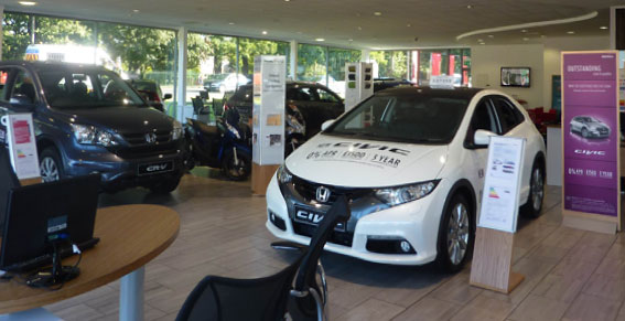 Welcome Video from Honda Nottingham
