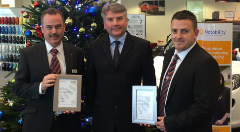 Bristol Street Motors Vauxhall Newcastle Celebrates Award Win For Excellent Customer Services