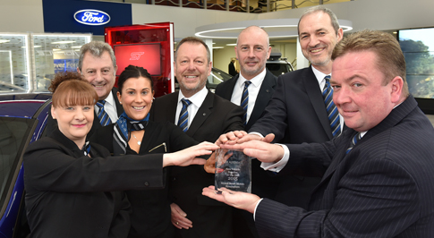 Bristol Street Motors Birmingham receives Fleet Award