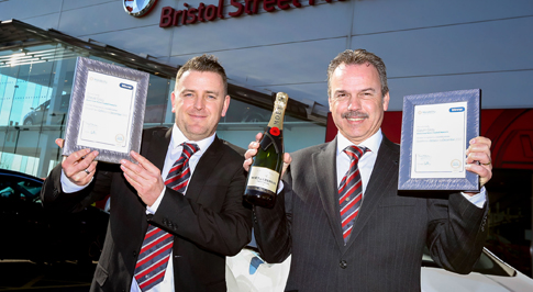 Award-winning Newcastle dealership adds another award