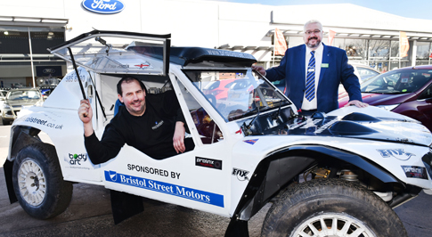 Bristol Street Motors renews support for motorsport driver