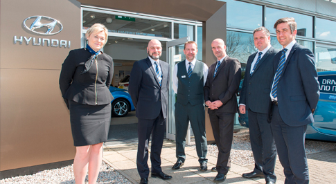 Bristol Street Motors unveils refurbished Exeter dealership