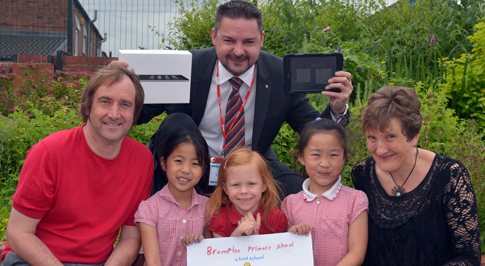 Vauxhall Chesterfield supports youngsters' genius