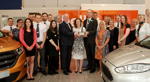 Bristol Street Motors Cheltenham recognised by Ford