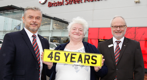 Newcastle Vauxhall says farewell to colleague of 46 years