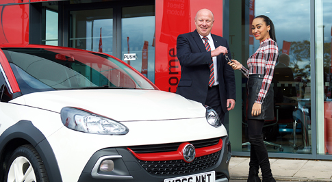 Northampton welcomes Vauxhall competition winner