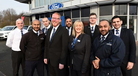 Experienced manager takes the wheel at Ford West Bromwich
