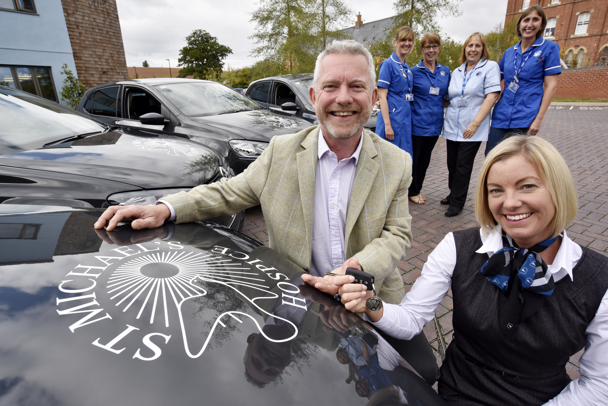 Vertu Volkswagen Hereford Helps Hospice
