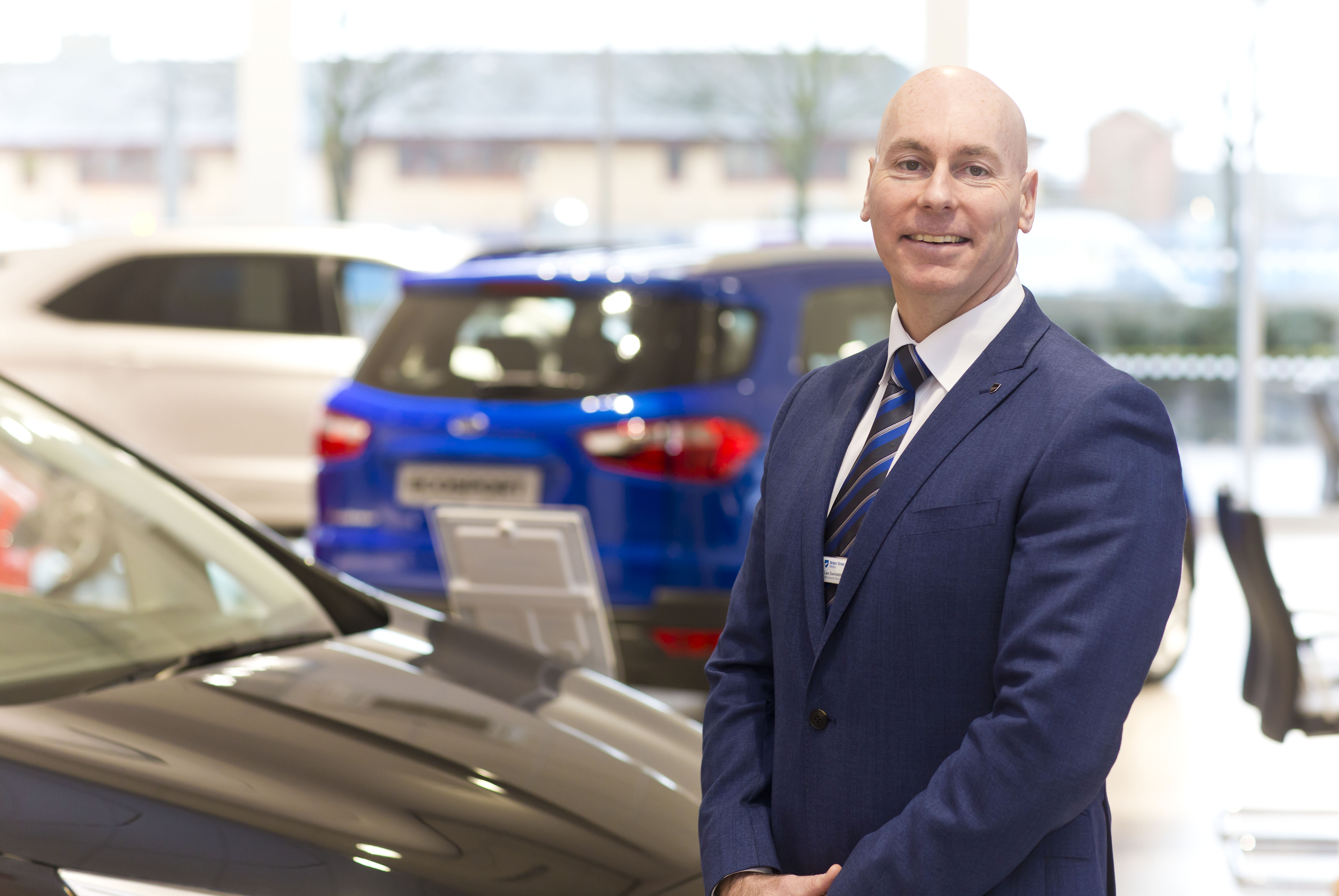 Newly-refurbished Ford Bolton welcomes new general manager