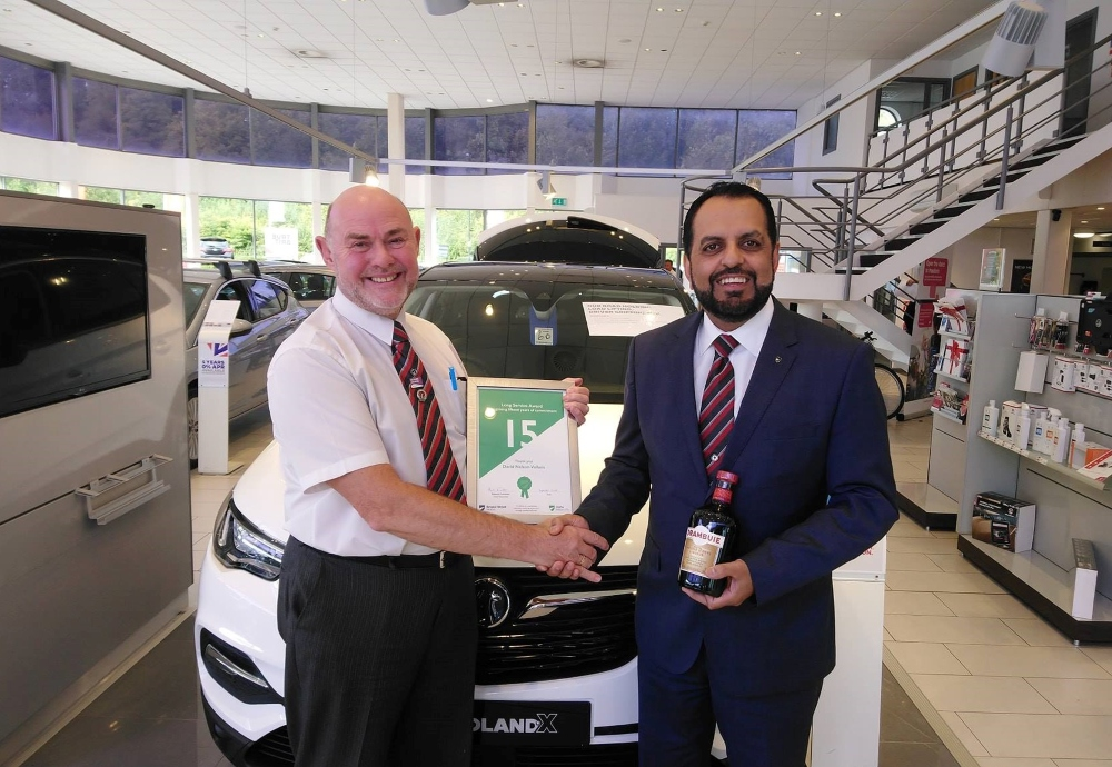 Award-winning Motability specialist celebrates 15 years