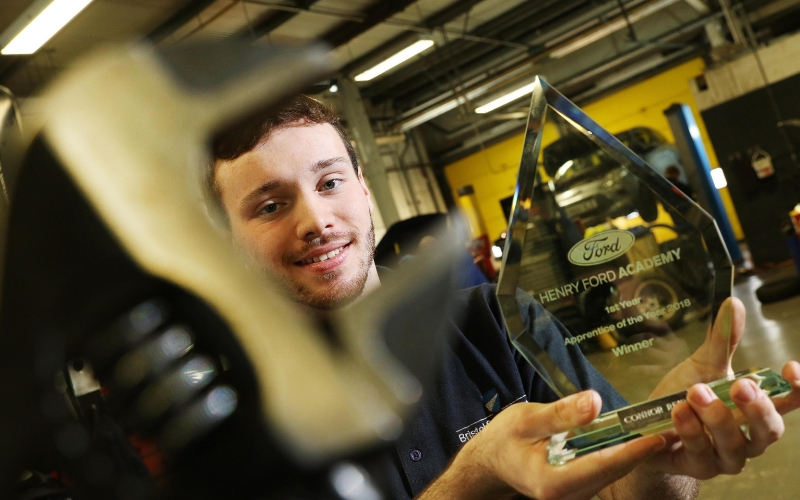 Cheltenham Ford technician named 'Apprentice of the Year'