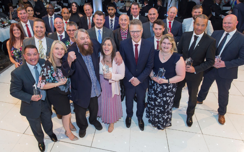 Vertu Motors Celebrates Its Top Performers