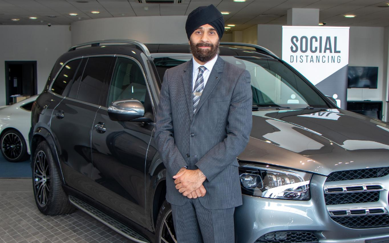 Mercedes-Benz Of Slough Welcomes New Head Of Business