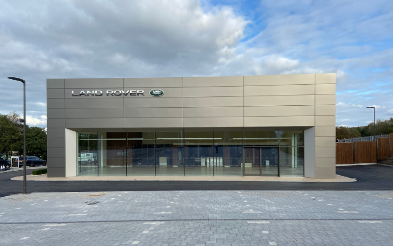 Major Investment Completed At Farnell Land Rover Nelson